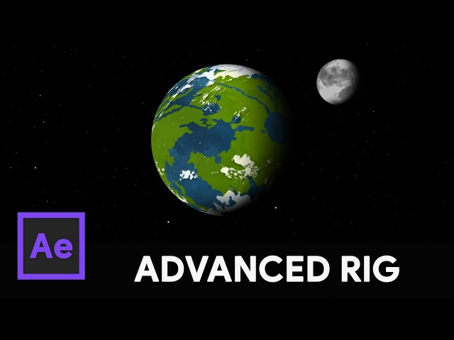 Orbital Planet Moon Rig - After Effects Tutorial