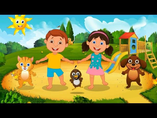 Части тела для детей | Изучите песню частей тела - Счастливое детское шоу