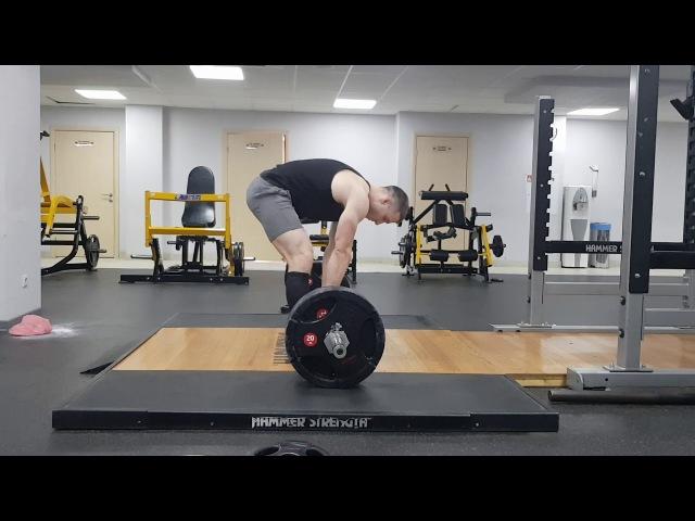 Становая тяга 165кг х 4 , 5-й подход (с.в. 78 кг) Доронин Игорь