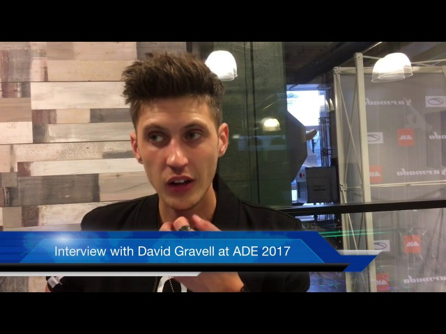 Interview with David Gravell at ADE 2017