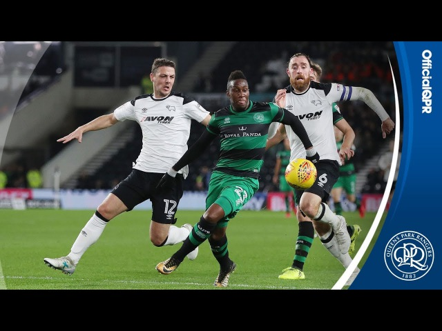 HIGHLIGHTS | DERBY COUNTY 2, QPR 0 - 21/11/17