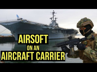 Airsoft on an Aircraft Carrier | Milsim Maritime Operation High Tide (HK 416C with Acetech Tracer)