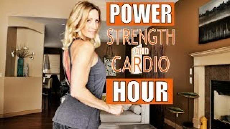Power Hour | Full Body Strength and Cardio | *NEW Gorilla Burpees?