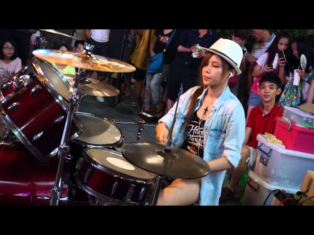 20130804 陳曼青《The Black Eyed Peas (黑眼豆豆合唱團) - Pump It》高畫質 1080p HD 李科穎 Jazz Drummer Ke Ying