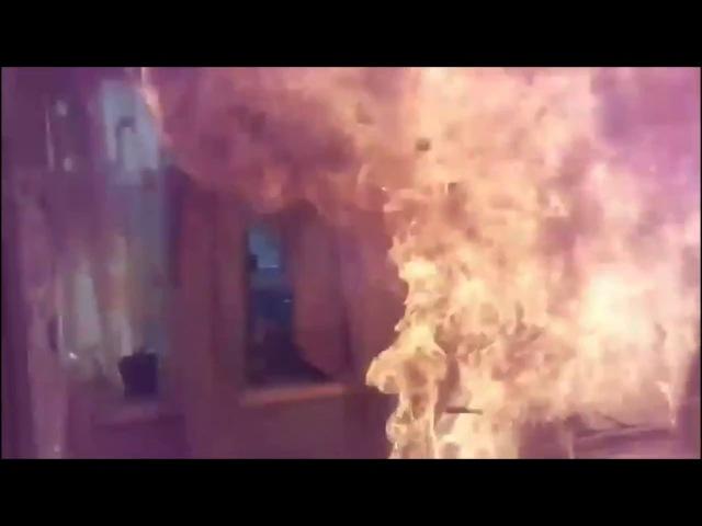 Владислав Родионович спалил кухню. Масло и вода на сковороде