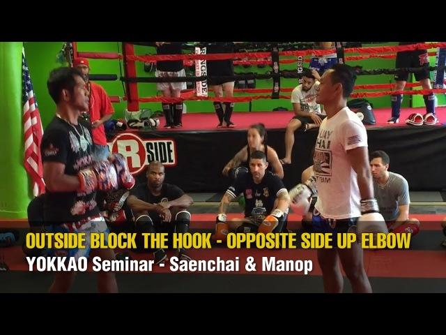 YOKKAO Seminar – Outside Block the Hook – Opposite Side Up Elbow
