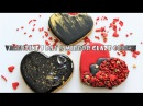 Valentine's Day Mirror Glaze Cookies