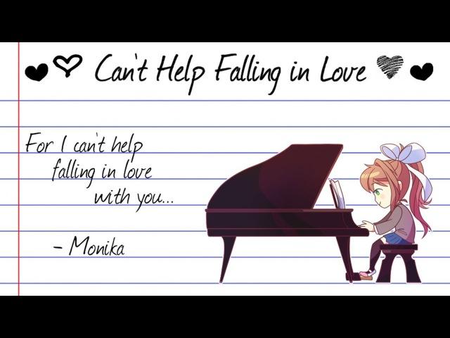 【Doki Doki Literature Club】Can't Help Falling in Love (Monika Cover)