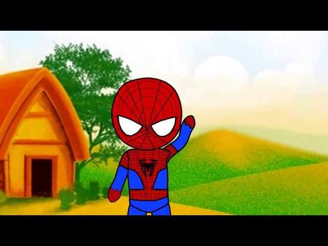 Человек паук против Для детей