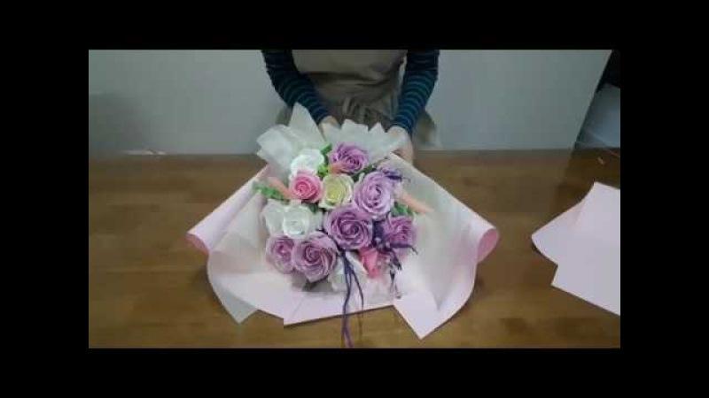하비공유]💐비누꽃 졸업식꽃다발 만들기💐🙋🏻