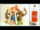 ❣DIY Log Fairy House Using a Coke Plastic Bottle❣