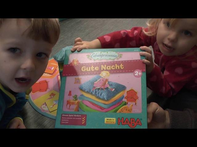 Gute Nacht - Erbsenprinzessin (Haba) - ab 2 Jahre - Kinderspiel - Gameplay TEIL 128