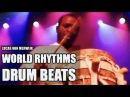 Lucas van Merwijk • Sabar • Percussionist • drum solo's • Aly N'Diaye Rose Senegal