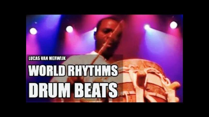 Lucas van Merwijk Sabar Percussionist drum solo's Aly N'Diaye Rose Senegal