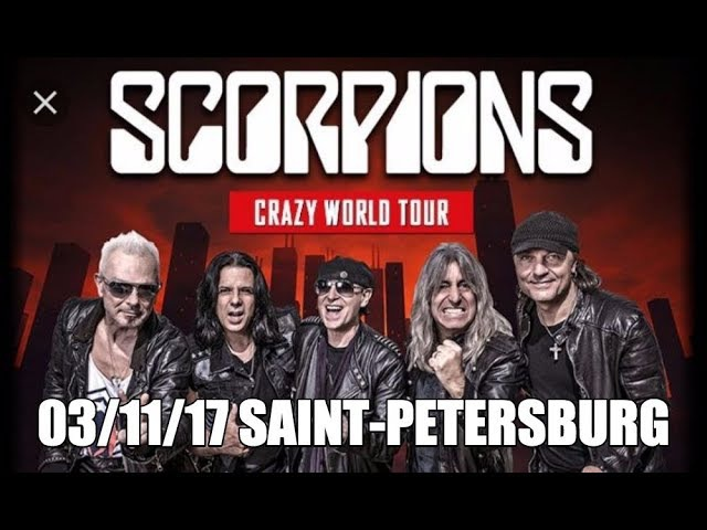 Scorpions 03.11.2017 Saint-Petersburg Russia Full Show Live HD