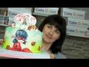 Оформляем торт для девочки Ноябрьский розыгрыш- Я - ТОРТодел!