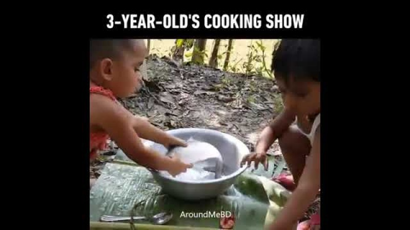 3 year olds cooking show