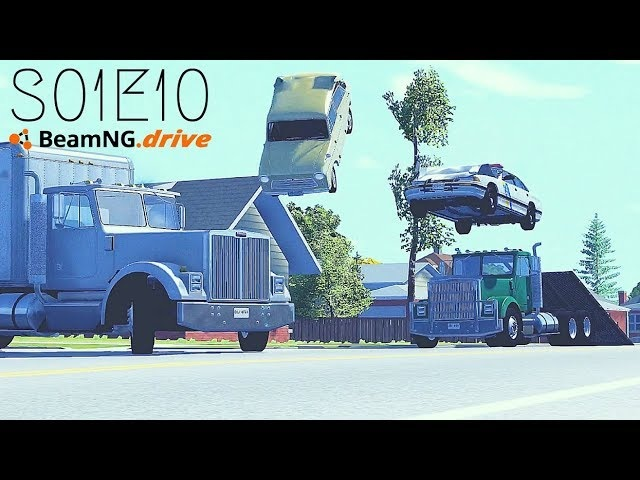 Beamng Drive Movie: Season Finale (New Content All Episodes) (Sound Effects) |Part 10| - S01E10