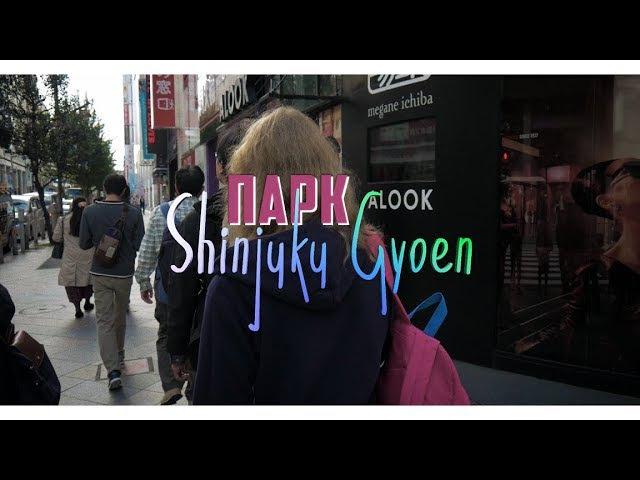 Национальный парк Shinjuku Gyoen | Осень в Японии | Токио