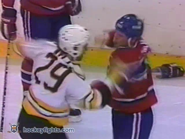 Chris Nilan vs Jay Miller Dec 5, 1985 Round 1