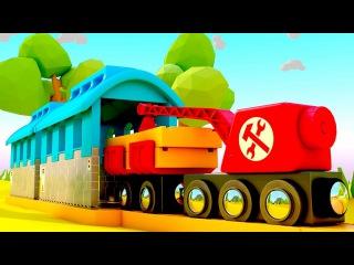 НОВИНКА! Мультфильмы 2017: ОСТРОВ ПОЕЗДОВ 🚂! Авария на железной дороге 🚃! МУЛЬТИК...