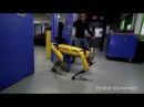 Robô tenta abrir porta enquanto é 'maltratado' por cientista
