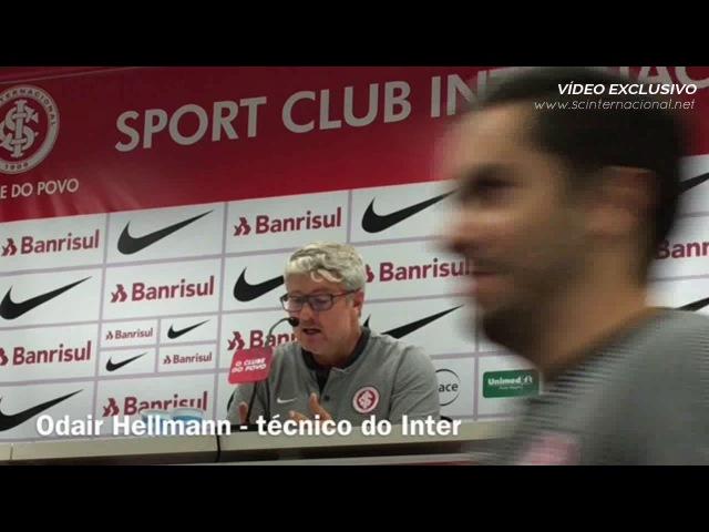 Coletiva Odair Hellmann - pós-Inter 4x0 São José