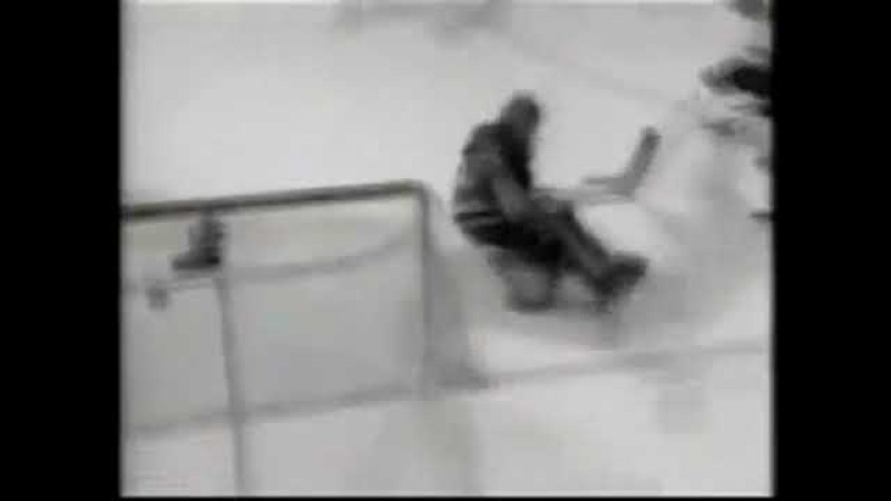 Roman Lyashenko first playoff goal in NHL vs Oilers (2000)
