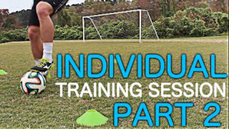 TRAIN LIKE A PRO | Individual Training Session Part 2 | Improve Footwork Fast