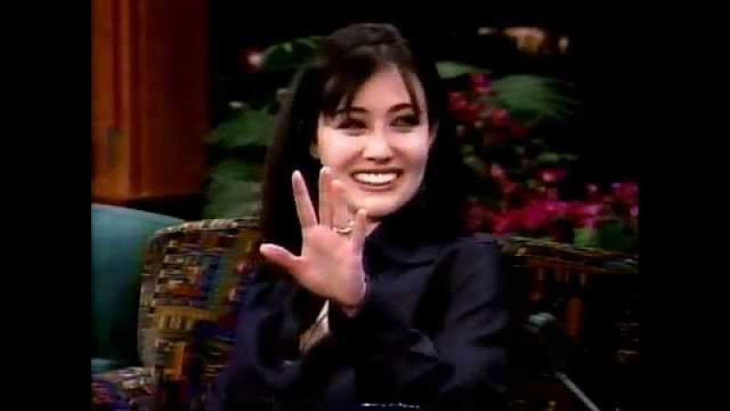 Shannen Doherty on Leno (1997)