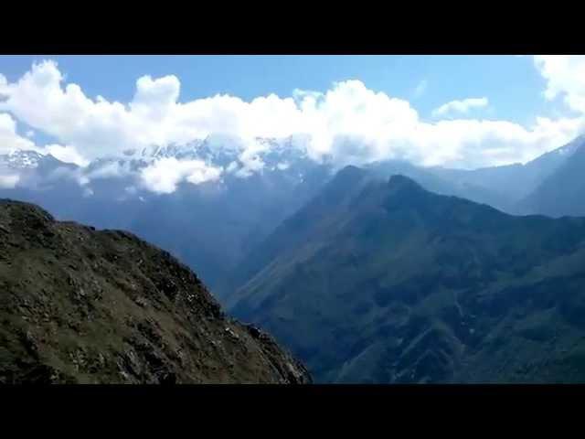 Горы Перу, трек из Качоры в Мачу Пикчу