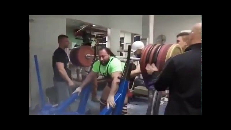 Zahir Khudayarov Raw Squat 460 x 2