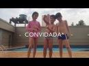 Desafio a piscina com meus primos