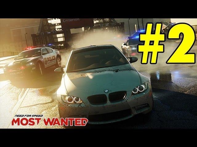 Need for Speed Most Wanted 2012 - Прохождение - Часть 2
