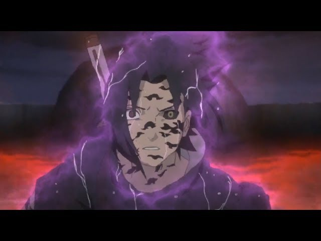 Sasuke Uses Orochimarus Powers Against Sage Mode Naruto [60FPS] - Naruto Shippuden - English Subbed
