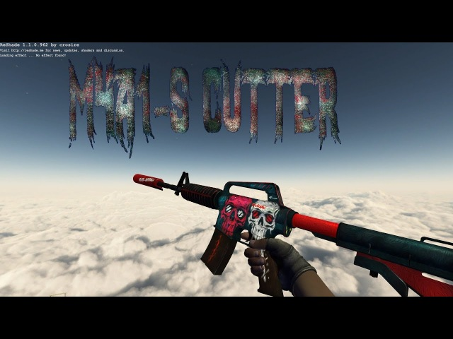 M4A1-S Cutter [T Gloves]
