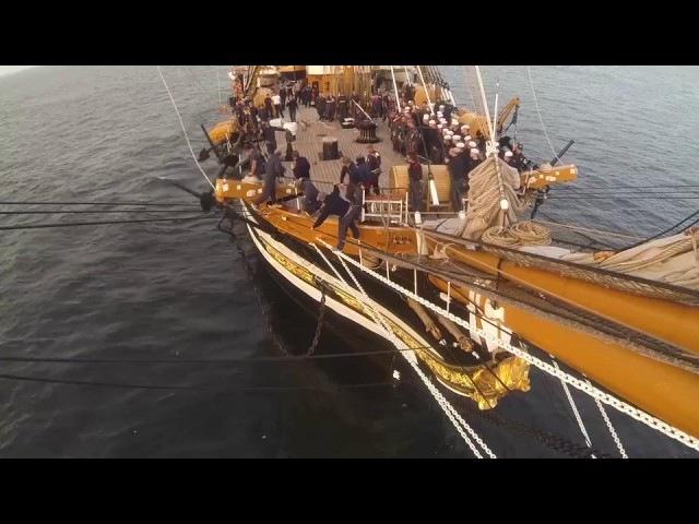 Amerigo Vespucci, la nave scuola più bella del mondo
