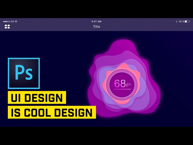 Create Smooth UI Graphics in Photoshop