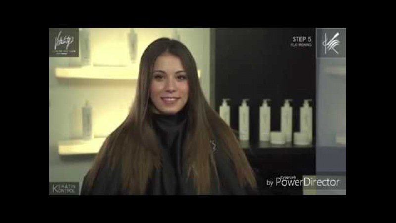 Hair keratin kontrol from Vitality's laboratorium - Vitality's life in the hair