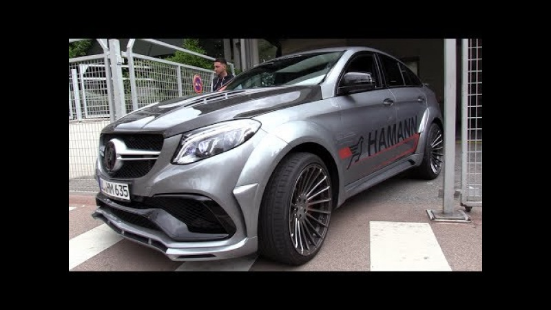 680HP HAMANN Mercedes-AMG GLE63 S - Start, Revs Accelerations!