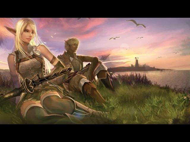 Lineage II OST. Bill Brown - Elven village theme (Unicorns rest)
