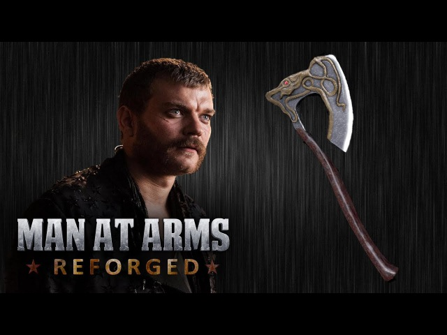 Euron Greyjoys Axe - Game of Thrones - MAN AT ARMS REFORGED