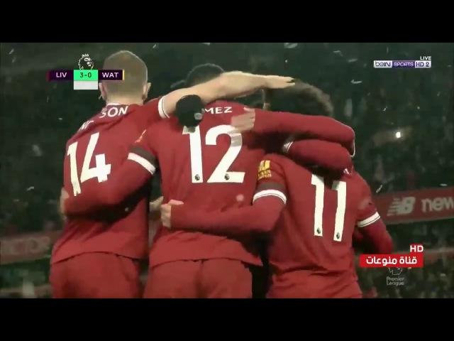 Liverpool Vs Watford Highlights Goals Mo Salah 4 Goals 1 assisst
