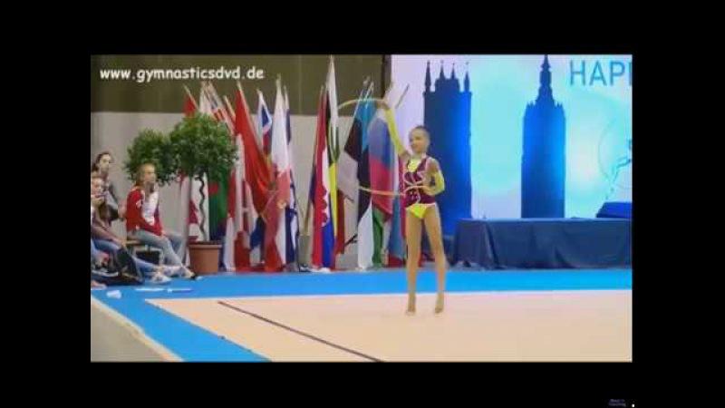 Nikol Savina - rope Happy Cup Ghent 2017 720