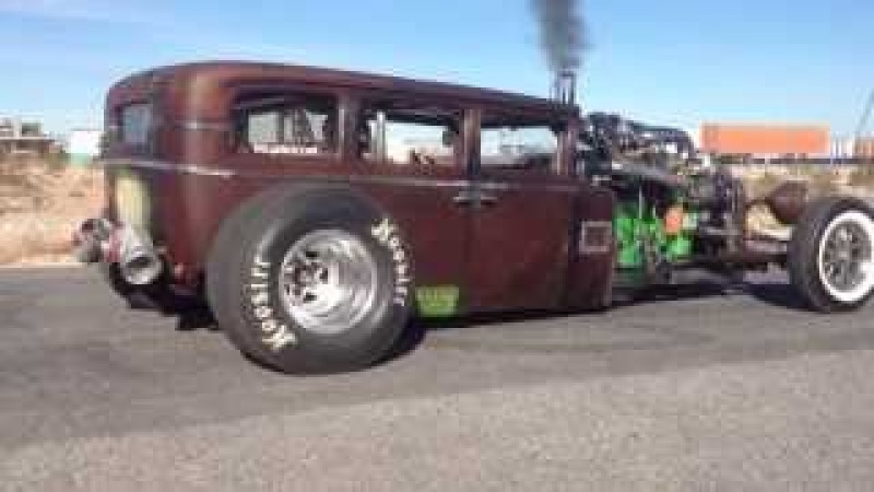 Welderup - Cummins Diesel RatRod with Transbrake