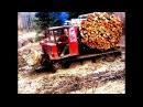 ТДТ-55 хозяин леса / crazy Russian tractor