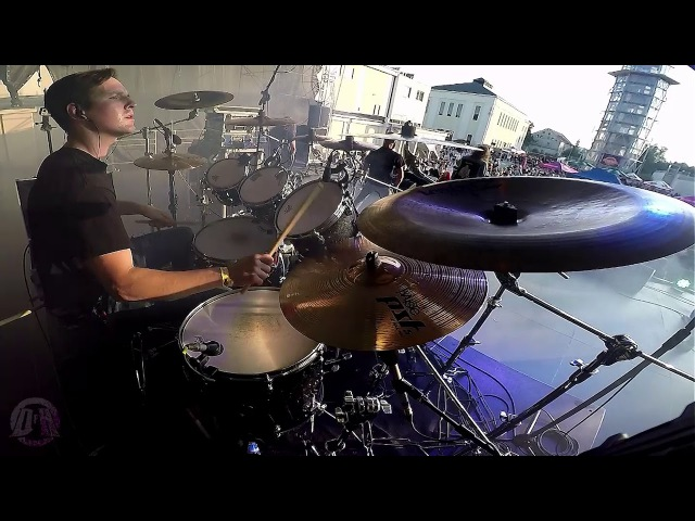 IN TWILIGHT'S EMBRACE@Gravitate Towards The Unknown-Dawid Bytnar-live in Poland 2017 (Drum-Cam)