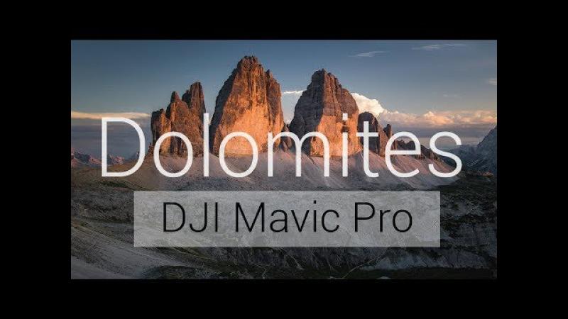 Dolomites - DJI Mavic Pro Cinematic Aerial Video by Florian Brill