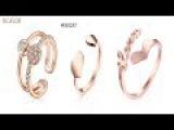 Лучшее женское кольцо с пальцами ноги в AliexpressЖенское пальто Золотое кольцо обзор