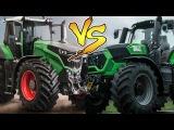 Versus Tractors Fendt 1050 Vario VS Deutz Fahr 9340 TTV